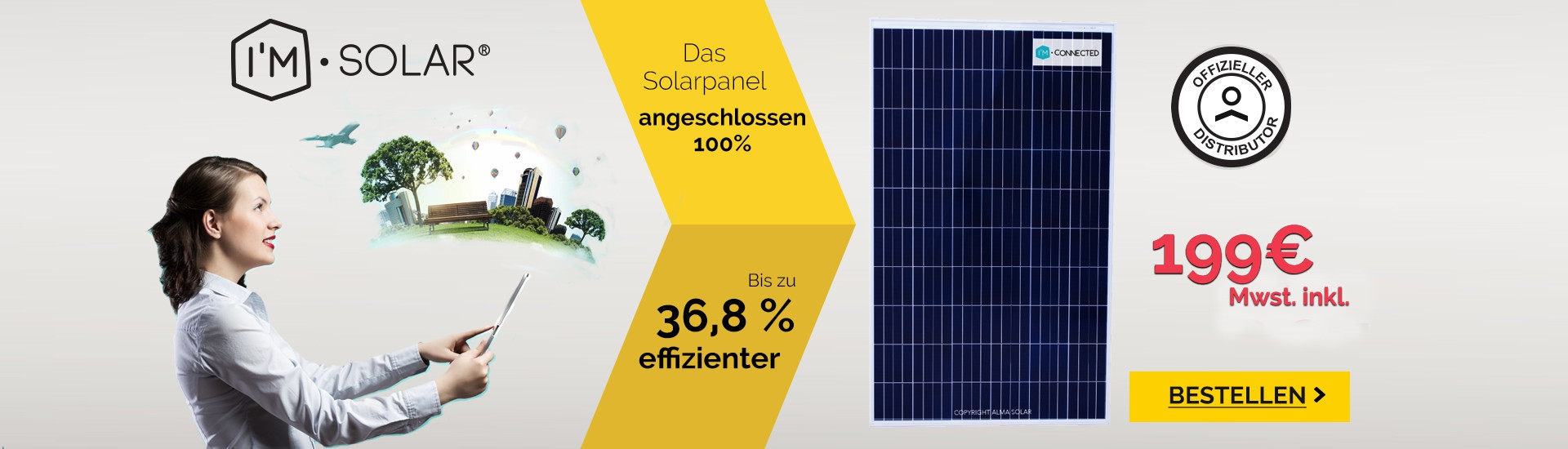 Kaufen I'M CONNECTED Solarmodule