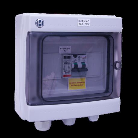 AC Box 16 A 230 V AC einphasig AC 3-4 kW