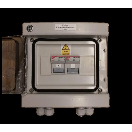 Schutzbox für Batterien bei 63 A