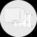 Wandhalterung für ENPHASE Batterie