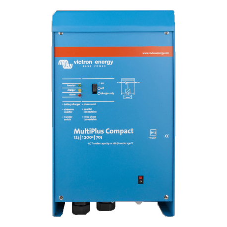 Wechselrichter/ladegerät VICTRON ENERGY MultiPlus C 1200