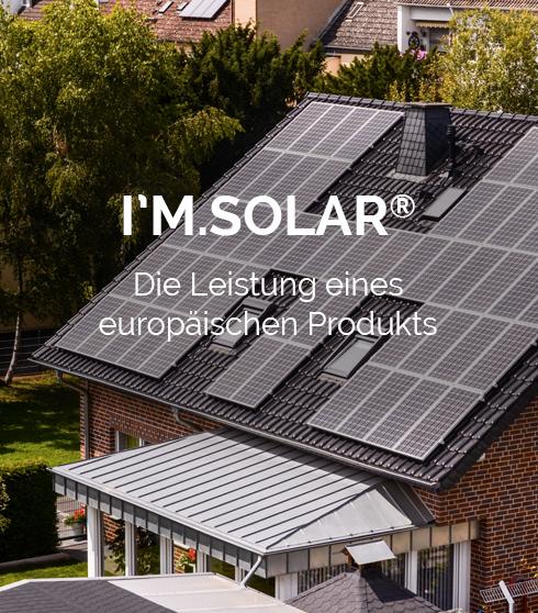 solarmodule IM.SOLAR