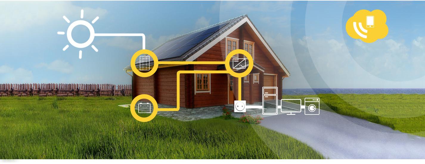 Eigenverbrauch Photovoltaik Alma Solar-Home