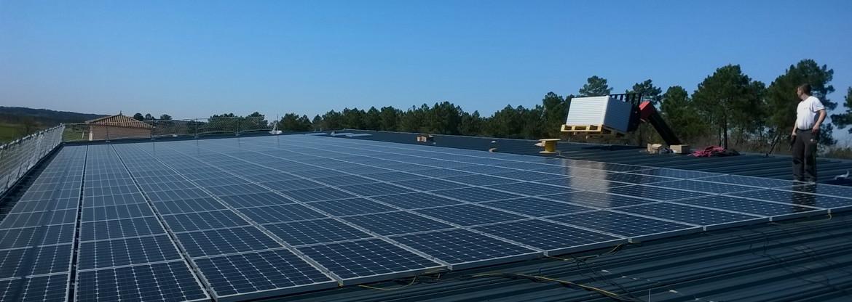 Ihre Phtovoltaik Anlage nach bestellt Solarmodules auf Alma Solar