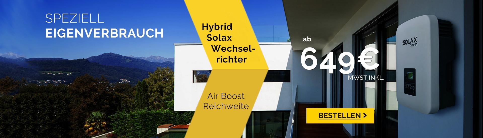Solar wechselrichter-hybrid solax X1 air boost